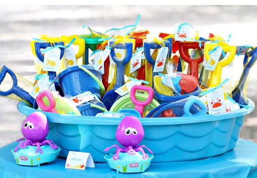 amazing el uso de un paraguas de colores brillantes playa va a tener un gran impacto en el ambiente de fiesta with decoracion para cumpleaos nios