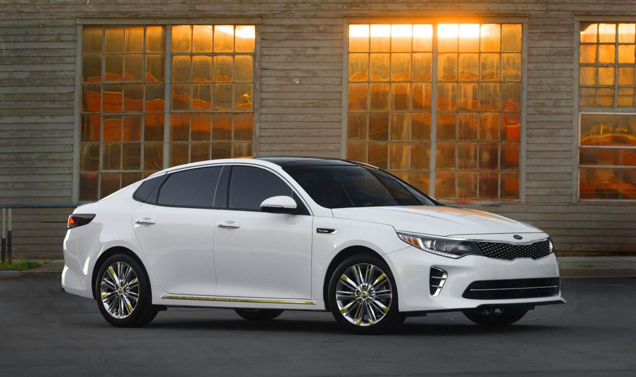 2016 Kia Optima Unveiled At The New York Motor Show   Turbocharged GDI  Engines Could Come Our Way