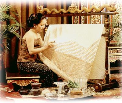 Proses Pembuatan Batik Tulis