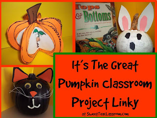 classroom pumpkin projects linky