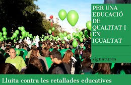 Signa per una educaci pblica de qualitat