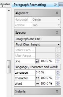 properties paragraph formatting untuk teks cara master