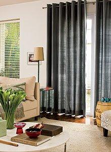 cortinas para sala12 Decoração Cortinas para Sala: Veja as Melhores Dicas
