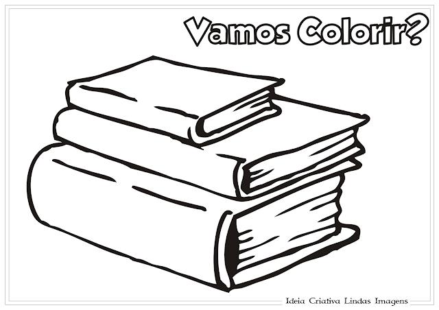 Livros desenho para colorir