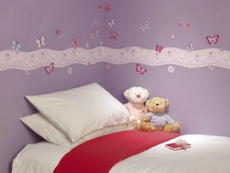 Decoraciones y modernidades decora el cuarto de ni as con for 6 cuartos decorados con estilo