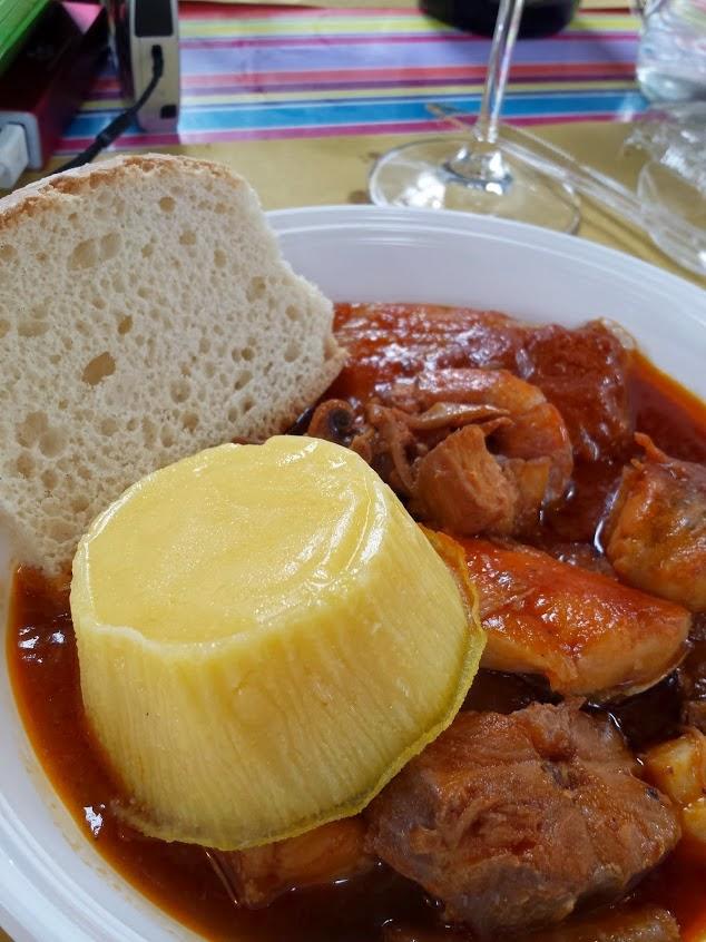 Pesaro regional cuisine called brodetto