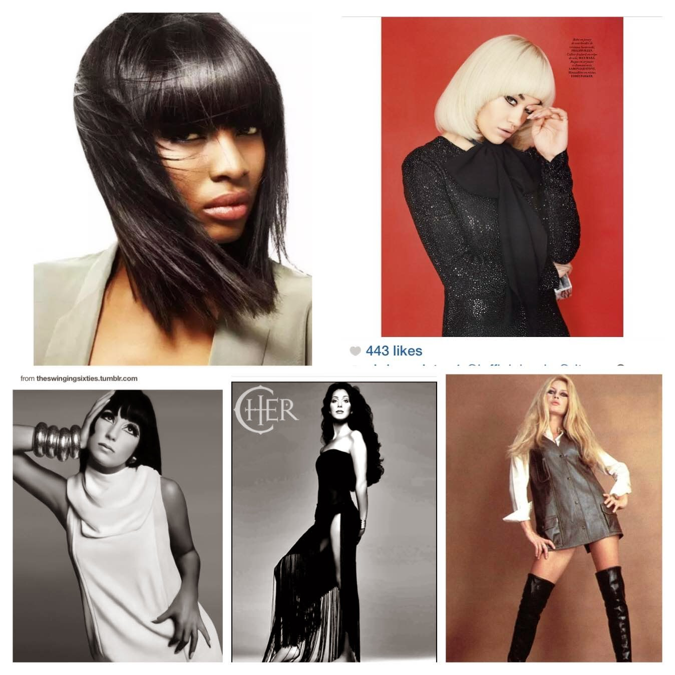 Seventies style, Cher, Rita Ora, Long and straight hair inspiration
