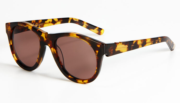 Pared Sunglasses: Salt & Pepper