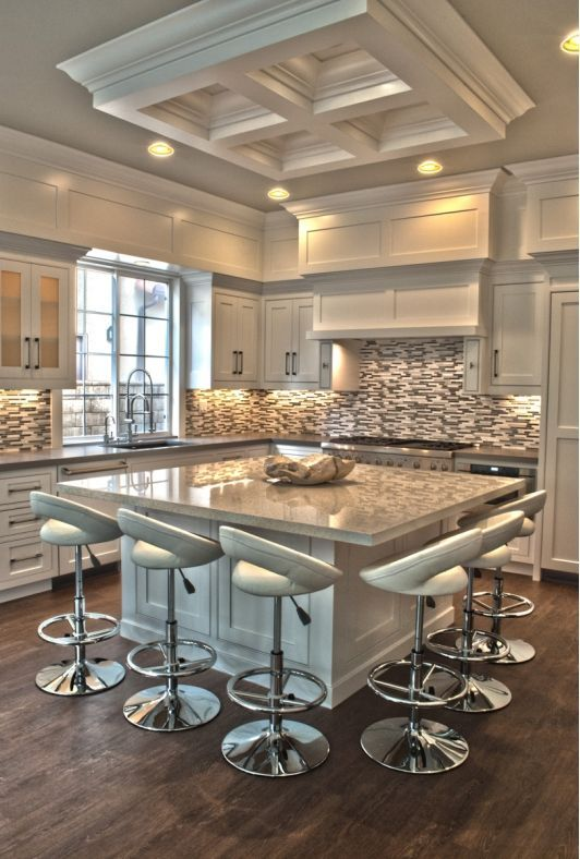Five elegant kitchen design trends to watch in 2016 for Elegant modern kitchen designs