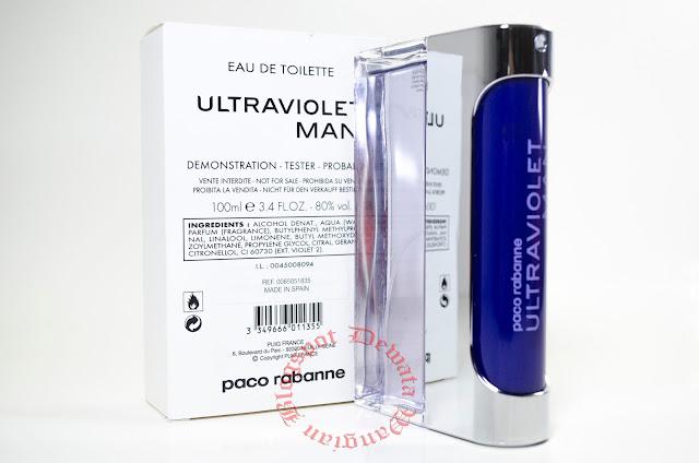 Paco Rabanne Ultraviolet Men Tester Perfume