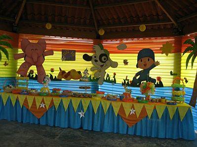 Decoracion de fiestas infantiles de Doki - happy birthday