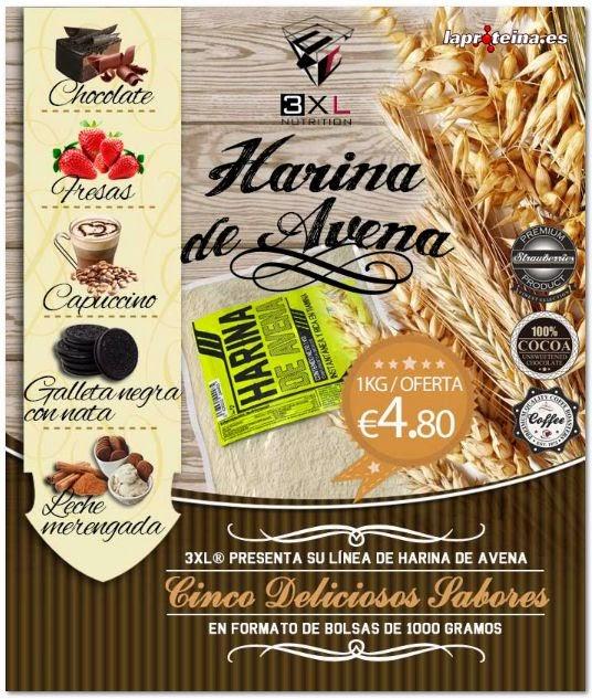 Suplementos deportivos harina de avena - Cocinar harina de avena ...