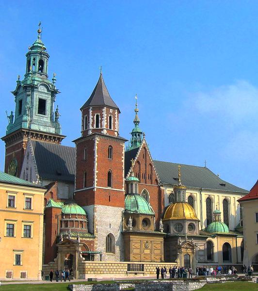 Cracovia. Catedrala castelului Wawel