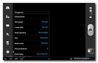 Review Kamera Setting - Samsung Galaxy Note 10.1