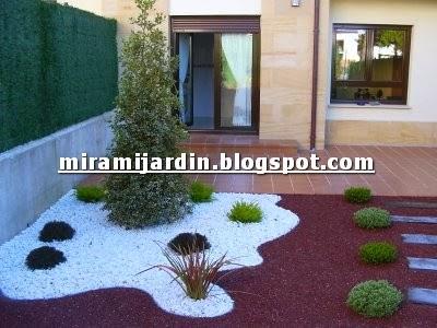Mira mi jard n otro jardin de piedra - Jardin piedras blancas ...