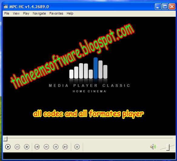 Windows Media Player 12 Avi No Video
