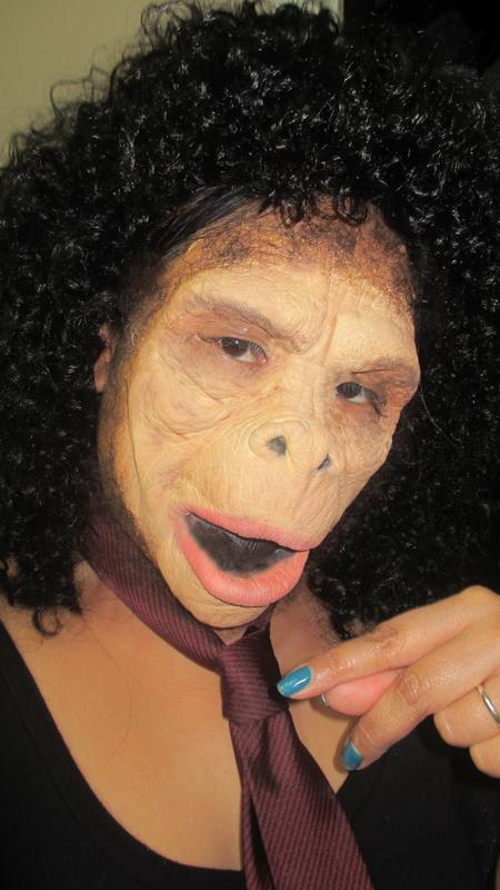 Halloween Makeup - Monkey/Ape Couple Costume | Makeup By ... - photo#19