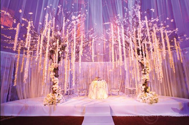 White smile wedding ceremony decor altars canopies for Altar wedding decoration