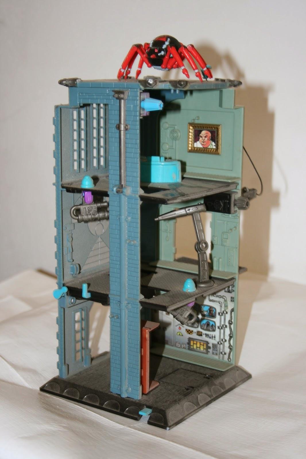 kingpin lair 90s toy