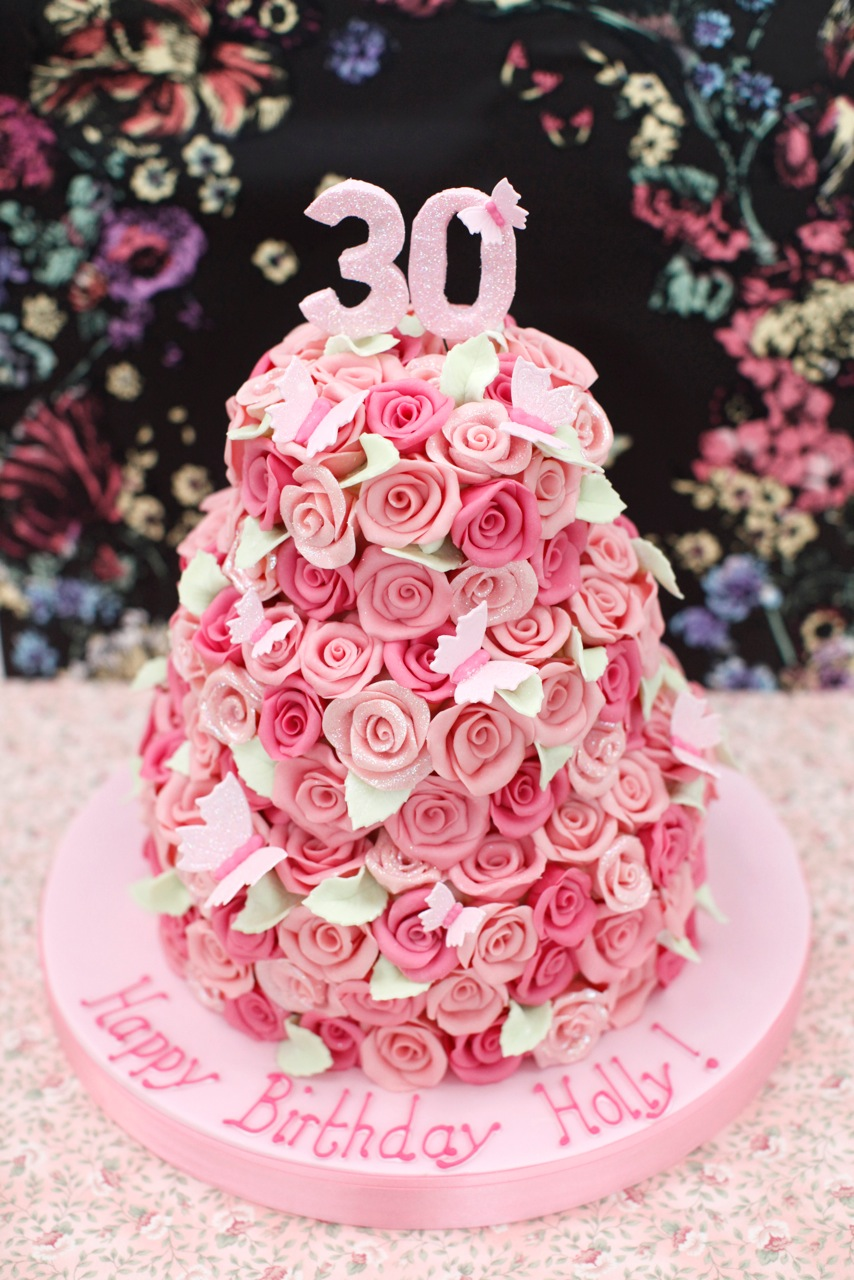Fancy Nancy Happy Birthday To You Holly Bespoke Wedding Cakes
