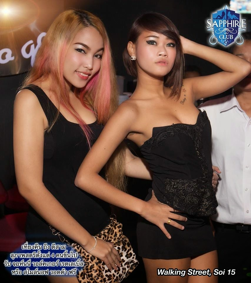 The sex show girls in Pattaya