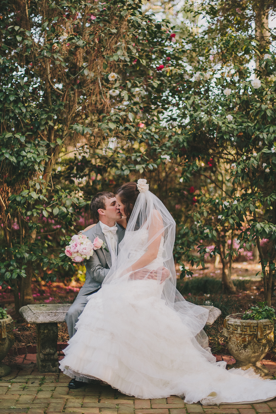 wedding, bride, bridal, details, kiss, married, love, delicate, fort valley, georgia, groom, photography, fort valley, massee lane, garden, georgia, macon, wedding photography