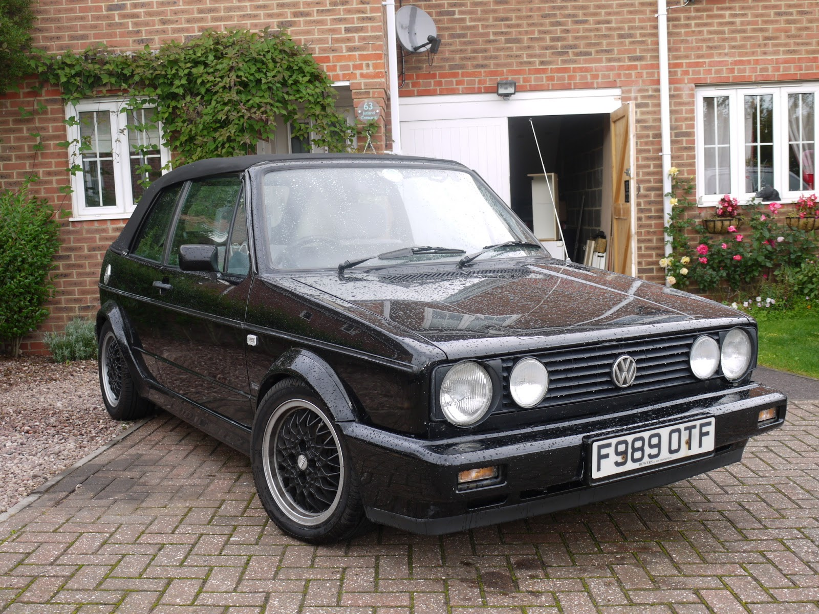 affectionado 1988 mk1 golf gti cabriolet. Black Bedroom Furniture Sets. Home Design Ideas