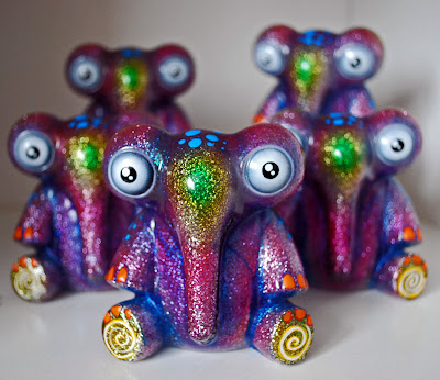 Rampage Toys x Hints and Spices Glitter Waniphants Vinyl Figures