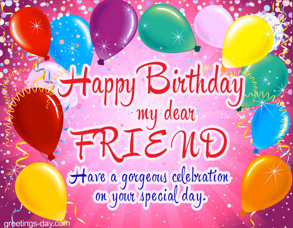 Оригинальное поздравление с днём рождения для друга