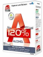 تحميل تنزيل برنامج الكحول لنسخ الاسطوانات Download alcohol 120 Free برابط مباشر
