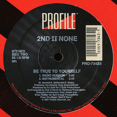 2nd II None ‎– Be True To Yourself (VLS) (1991) (256 kbps)