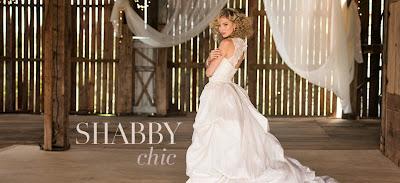 styl SHABBY chic (ślub, wesele)