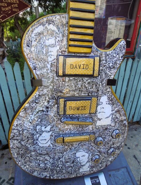 David Bowie GuitarTown tribute