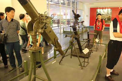 Virtueller Besuch der Kriegsmuseum in Saigon