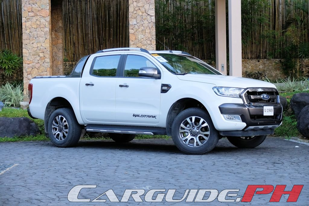 First Drive: 2016 Ford Ranger 2.2 Wildtrak | CarGuide.PH - Philippine ...
