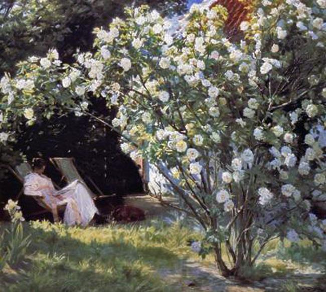 P S Krøyer: Roses (1893)