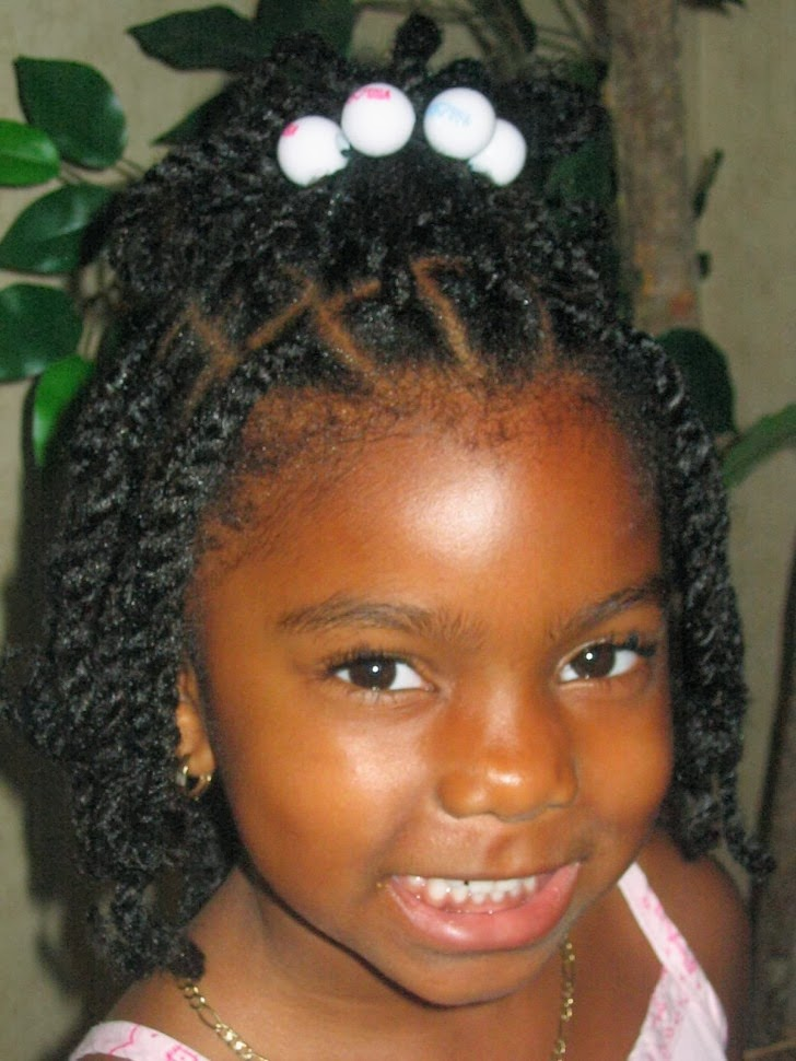 Little Girls Short Black Hairstyles Picture