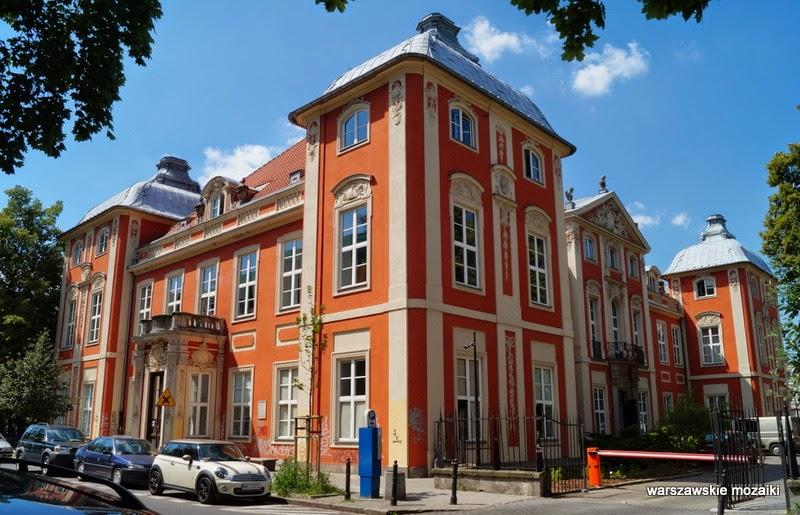 Warszawa pałac Czapskich ASP