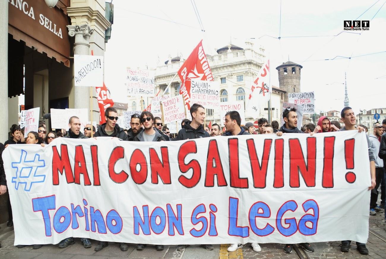 Salvini, indegno manifestare protetti
