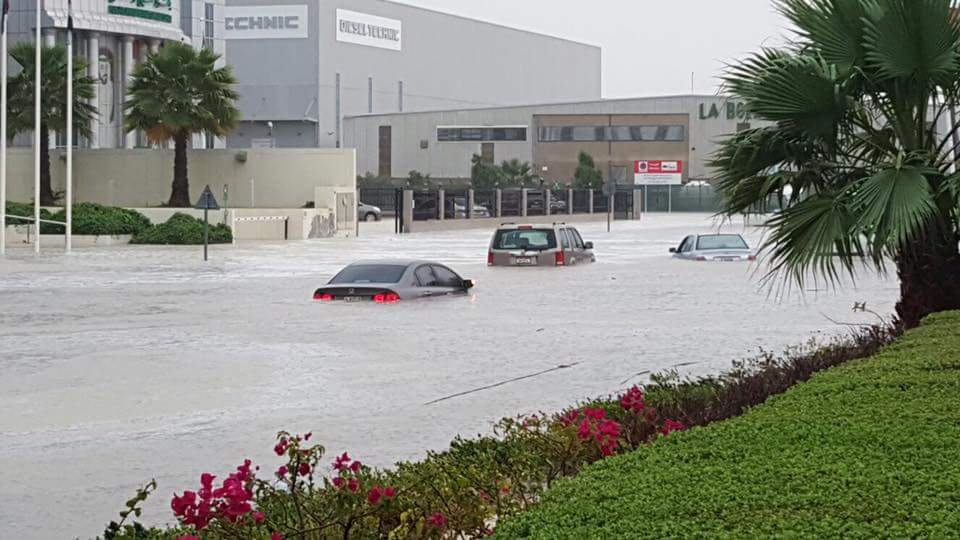 Highest amount of rain ever recorded in one day in parts of the UAE: 50 times more than the average