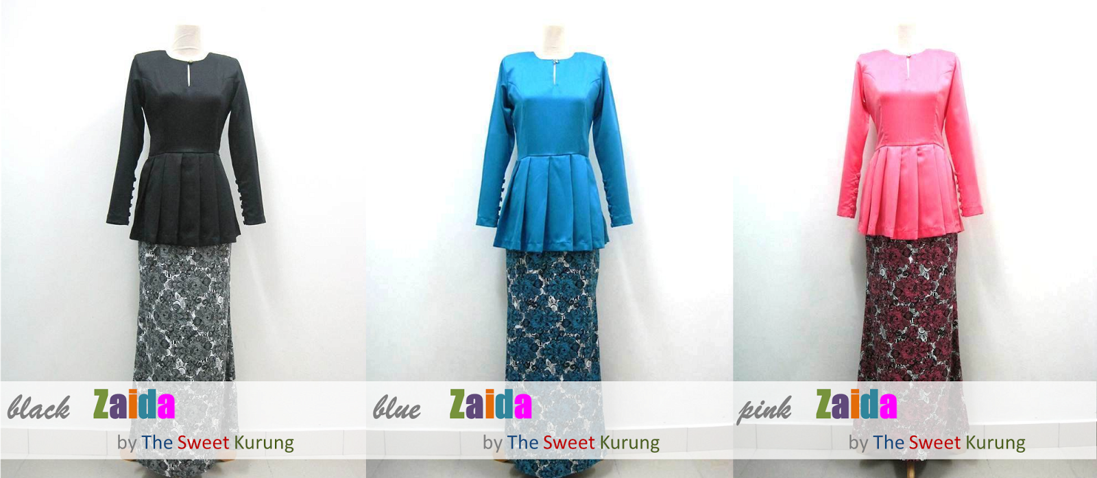 the sweet kurung