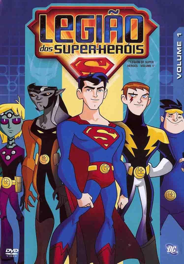 Legião dos Super Heróis 1ª Temporada Torrent - WEB-DL 1080p Dual Áudio (2006)