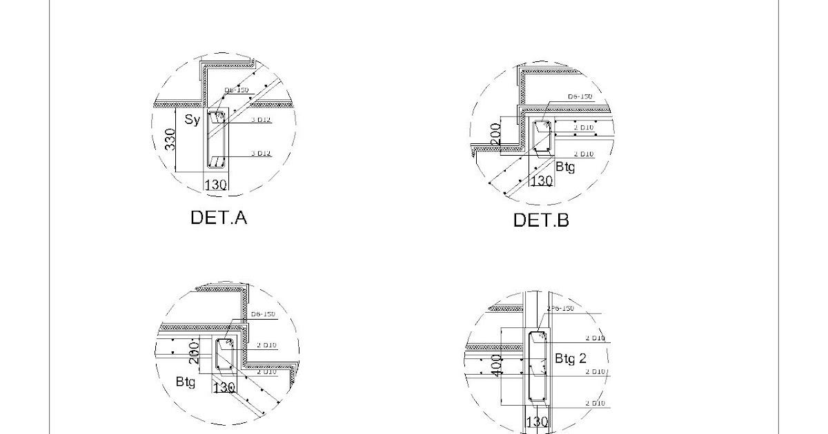 TFQ Architects 081218804512 Atau Wa Detail Potongan Tangga