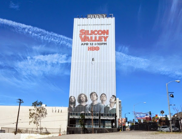 Giant Silicon Valley season 2 billboard