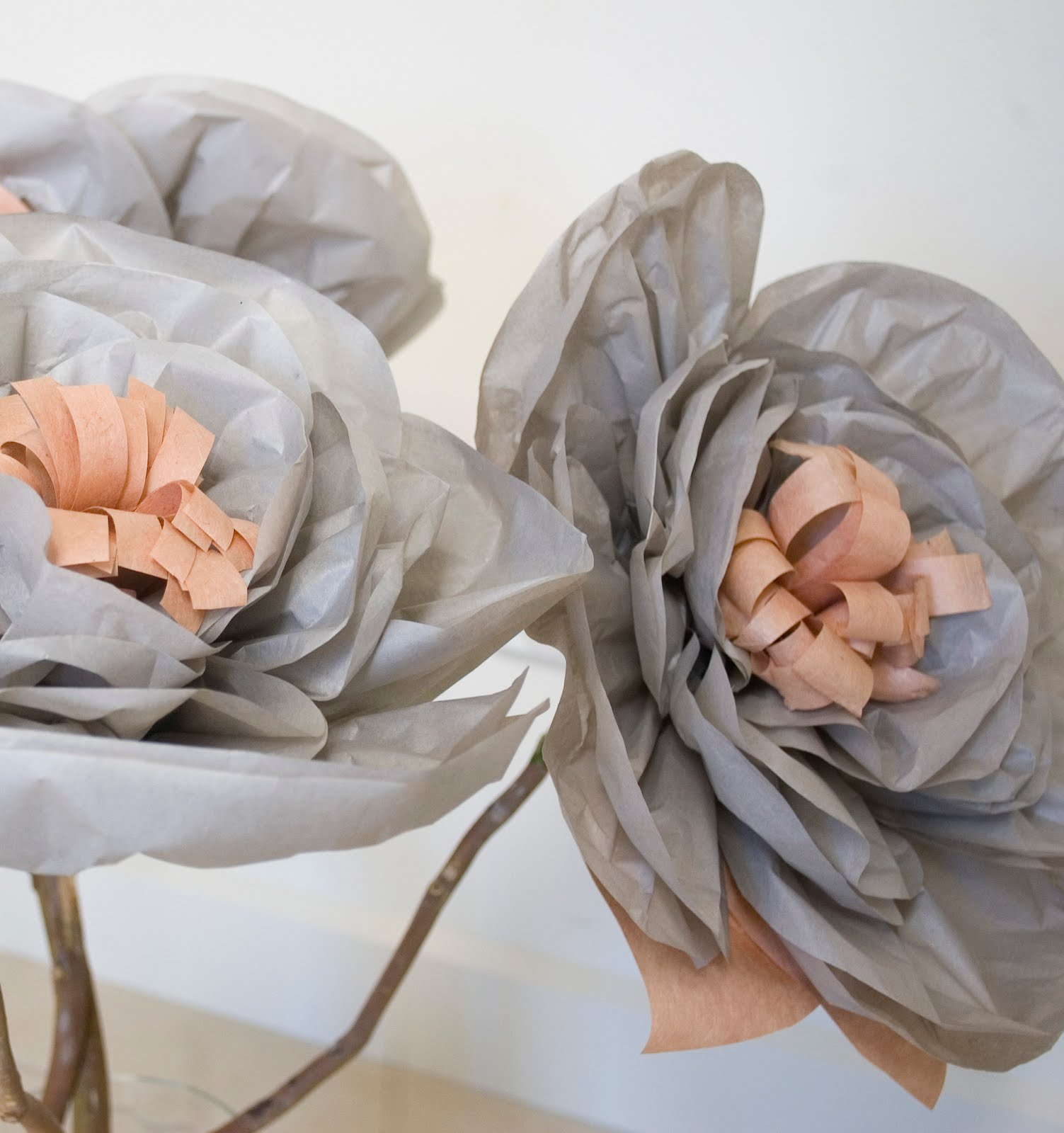 Grace Designs My Creative Space Giant Paper Flower Wedding Bouquets