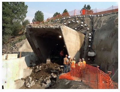 "Truckee's Pedestrian/Bike ""Mousehole"" is now a tunnel under the tracks"