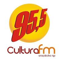 ouvir a radio Cultura FM 95,5 ao vivo e online Araçatuba