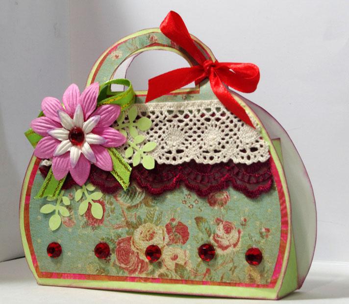 Поздравление для подарка сумки