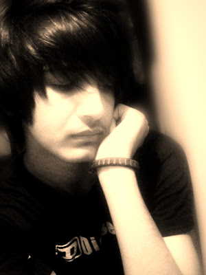 Sad emo boy wallpaper
