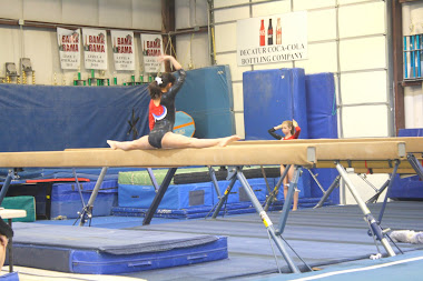 Gracey on the beam 2011
